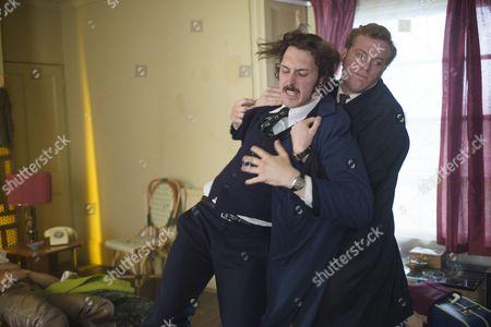 Episode 3 - Blake Harrison as DS Spencer Gibbs and Sam Reid as DCI Len Bradfield.