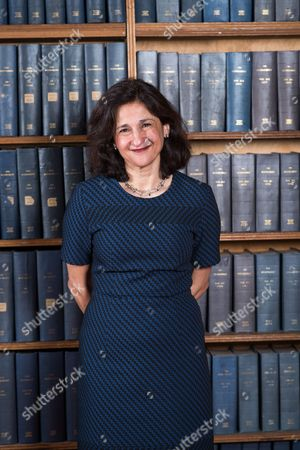 Stock Photo of Dame Nemat Shafik - Economist, Former Deputy Governor of the Bank of England, and next Director of the London School of Economics
