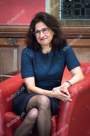 Editorial photo of Dame Minouche Shafik at the Oxford Union, UK - 22 Feb 2017
