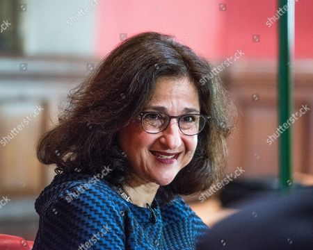 Stock Picture of Dame Nemat Shafik - Economist, Former Deputy Governor of the Bank of England, and next Director of the London School of Economics
