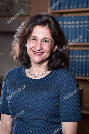 Stock Image of Dame Nemat Shafik - Economist, Former Deputy Governor of the Bank of England, and next Director of the London School of Economics
