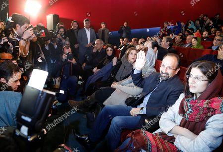 Editorial image of Director Asghar Farhadi is winner of Academy Award in Tehran, Iran (Islamic Republic Of) - 03 Mar 2017