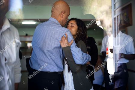 Patricia Preval, Michel Martelly Former Haitian President Michel Martelly, left, comforts Patricia Preval, the daughter of Haiti's late former President Rene Preval, at the Sainte Claire hospital in Petion-Ville, Haiti. . Preval, who was the only democratically elected president of Haiti to win and complete two terms but was criticized for his handling of the devastating January 2010 earthquake, has died