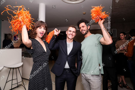 Editorial picture of Equinox Cycle for Survival dinner, Los Angeles, USA - 02 Mar 2017
