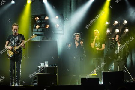 Sting, Jerry Fuentes, Joe Sumner and Diego Navaira