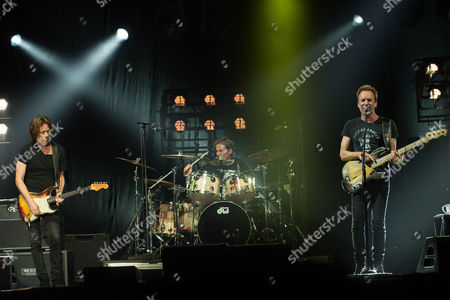 Dominic Miller, Josh Freese and Sting