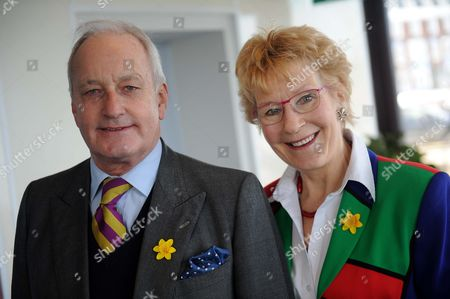UK Independence Party conference, UKIP Welsh Assembly member Neil Hamilton with wife Christine Hamilton
