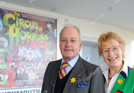 UK Independence Party conference, UKIP, Welsh Assembly member Neil Hamilton with wife Christine Hamilton