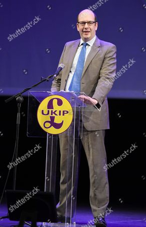 Stock Picture of UK Independence Party conference, UKIP, Welsh Assembly member Mark Reckless