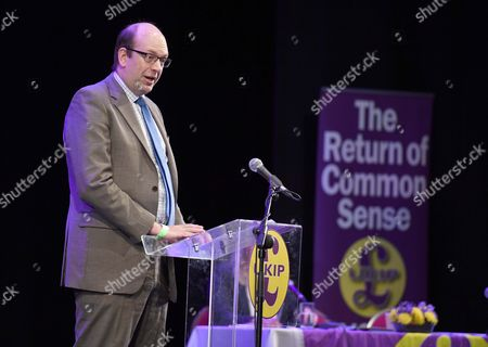Stock Image of UK Independence Party conference, UKIP, Welsh Assembly member Mark Reckless