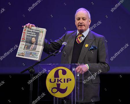 UK Independence Party conference, UKIP Welsh Assembly member Neil Hamilton