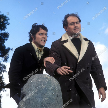 'Catweazle'  TV - 1971 - Kenneth Cope as Jack Victor and Tony Caunter as Richardson