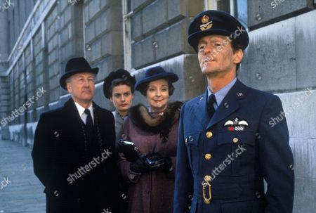 'A Perfect Hero'  TV - 1991 - Bernard Hepton as Arthur Fleming, Amanda Elwes as Marjorie, Barbara Leigh-Hunt as Iris Fleming and Nigel Havers as Hugh Fleming..