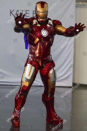 Iron Man on the catwalk