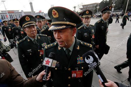 Editorial photo of Politics Military, Beijing, China - 05 Mar 2017