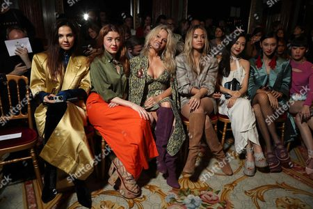 Stock Image of Doina Coibanu, Caroline Tillette, Pamela Anderson and Rita Ora