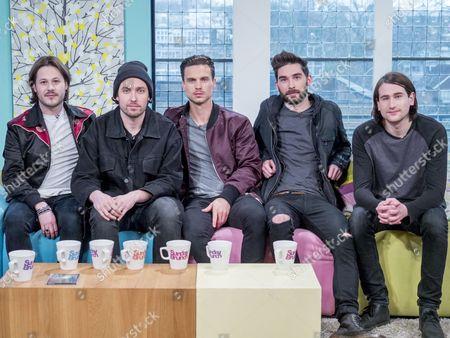You Me At Six - Max Helyer, Josh Franceschi, Dan Flint, Matt Barnes, Chris Miller