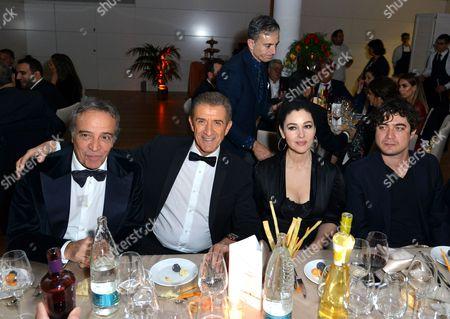 Enrico Montesano, Ezio Greggio, Monica Bellucci, Riccardo Scamarcio