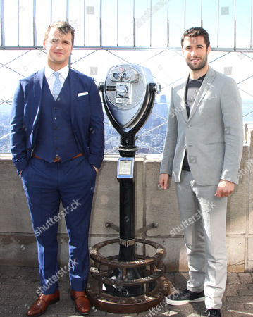 Stock Picture of Freddie Stroma and Josh Bowman