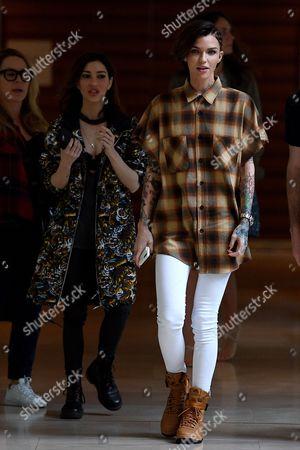 Ruby Rose and Jessica Origliasso