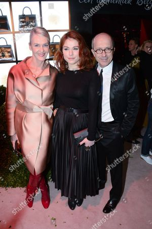 Editorial picture of Delvaux party, Autumn Winter 2017, Paris Fashion Week, France - 05 Mar 2017