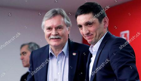 Tayfun Korkut and Michael Schade
