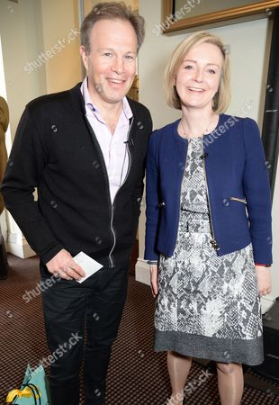Tom Bradby and Liz Truss