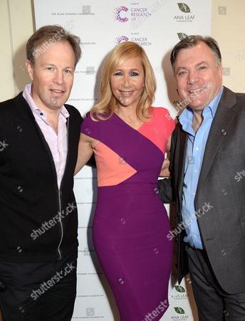 Tom Bradby, Tania Bryer and Ed Balls