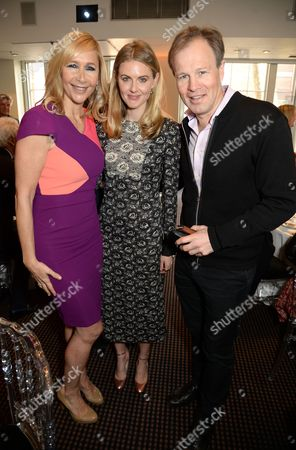 Tania Bryer, Donna Air and Tom Bradby