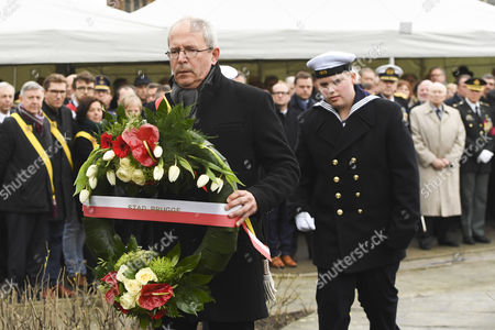 Editorial picture of 30th anniversary of the 'Herald of Free Enterprise' ferry disaster, Zeebrugge, Belgium - 06 Mar 2017