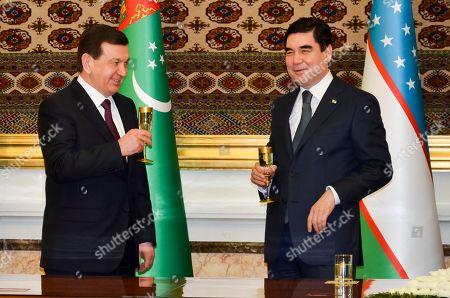 Editorial image of Uzbekistan, Ashgabat, Turkmenistan - 06 Mar 2017