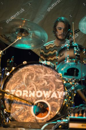 Editorial image of Stornoway in concert at The Old Fruitmarket, Glasgow, Scotland, UK - 06 Mar 2017