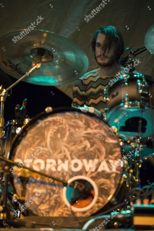 Editorial picture of Stornoway in concert at The Old Fruitmarket, Glasgow, Scotland, UK - 06 Mar 2017