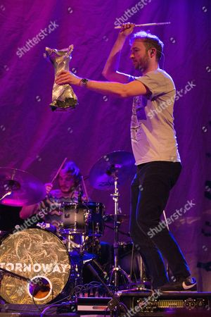 Editorial photo of Stornoway in concert at The Old Fruitmarket, Glasgow, Scotland, UK - 06 Mar 2017