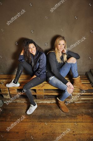 Stock Picture of Amy Mubul and Laura Preiss