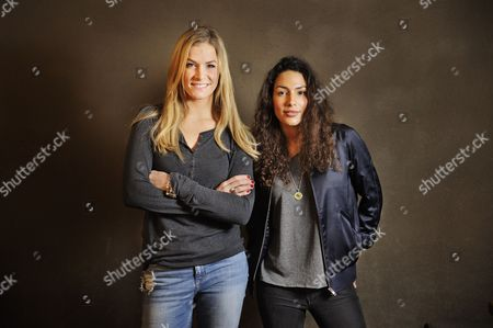 Stock Image of Amy Mubul and Laura Preiss
