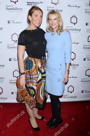 Editorial picture of House of Speak Easy Annual Gala 'When In Rome', Arrivals, New York, USA - 06 Mar 2017