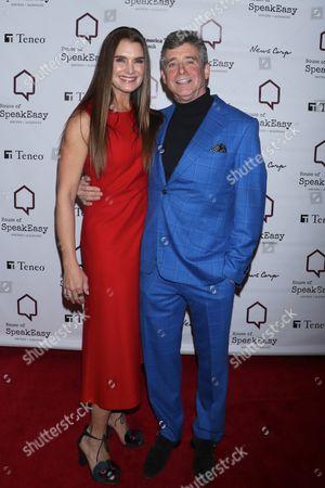 Brooke Shields and Jay McInerney
