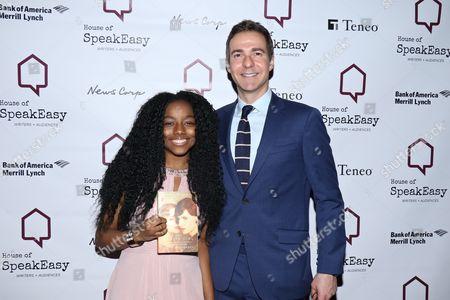 Nadia Oakley and David Ebershoff, author