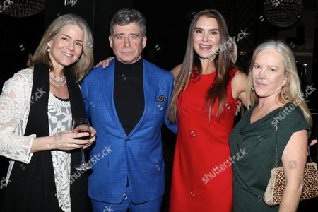 Mary Rasenberger, Executive Director of the Authors Guild, Jay McInerney, Brooke Shields and Anne Hearst