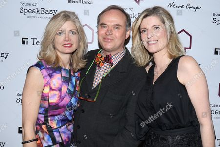 Camille Massey, Christopher Mason and Lucy Sykes