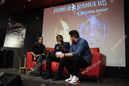 Editorial picture of 'Power Rangers' fan event, Y-100, Fort Lauderdale, USA - 06 Mar 2017