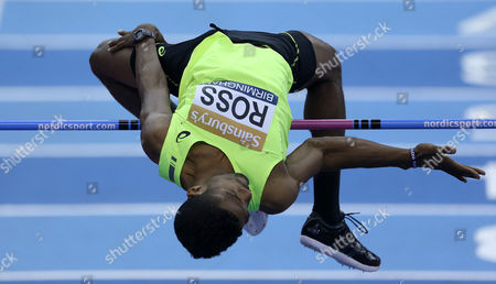 United States Nick Ross During the Men's High Jump United Kingdom King Edwards Rd, Birmingham