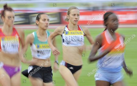 Julia Bleasdale Gbr During the Women's 5000m Race Bleasdale Would Finish with A Personal Best Time of 15 10 06 United Kingdom London