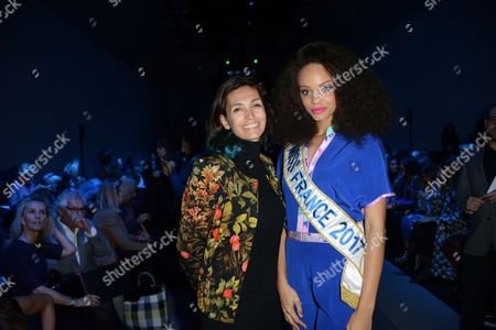 Adeline Blondieau, Alicia Aylies, Miss France 2017
