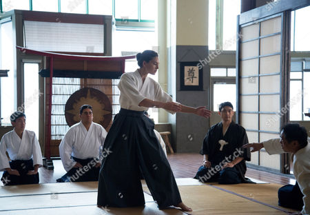 Stock Photo of Alexa Davalos, Yuki Matsuzaki