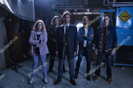 "Editorial photo of ""Travelers"" TV series - 2016"