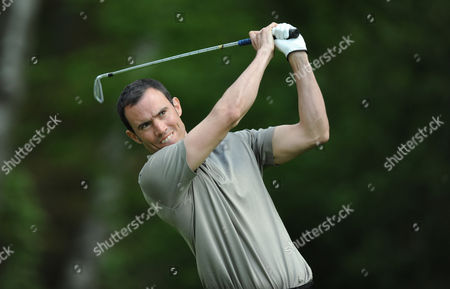 Sports Broadcaster Andrew Cotter During the Pro Am United Kingdom