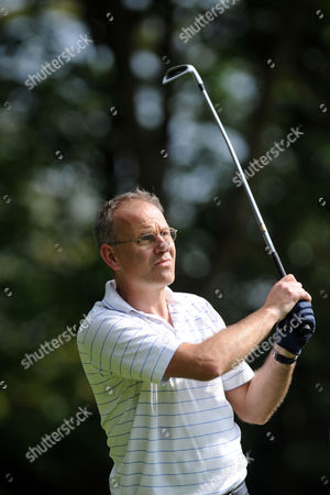 Ian Talbot On the Second Tee During the Bmw Pga Golf Championship Pro Am at Wentworth United Kingdom