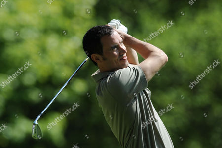 Andrew Cotter On the Second Tee During the Bmw Pga Golf Championship Pro Am at Wentworth United Kingdom